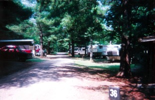 Hide Away Campground in Bryson City, North Carolina